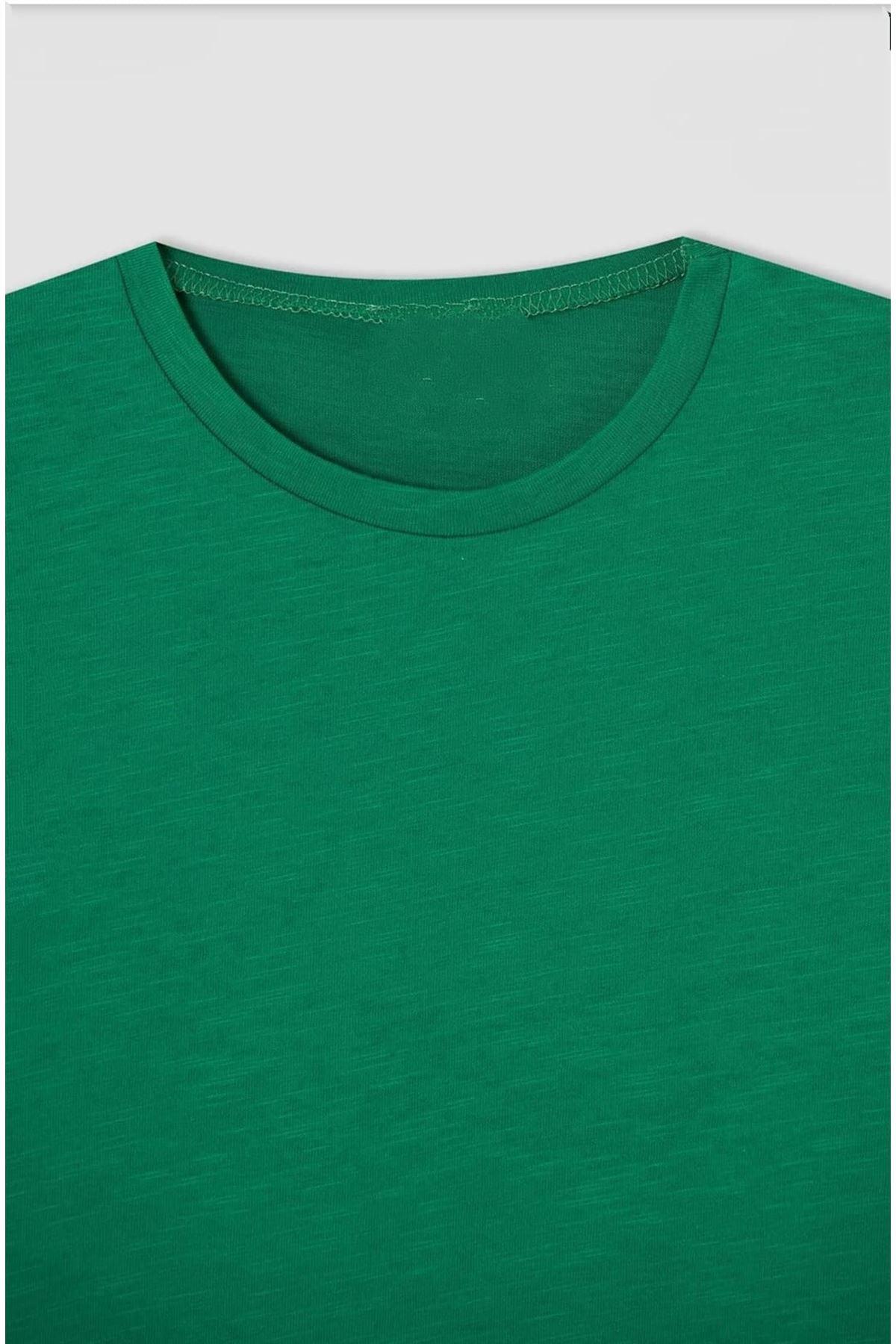 Erkek Çocuk Yeşil T-shırt