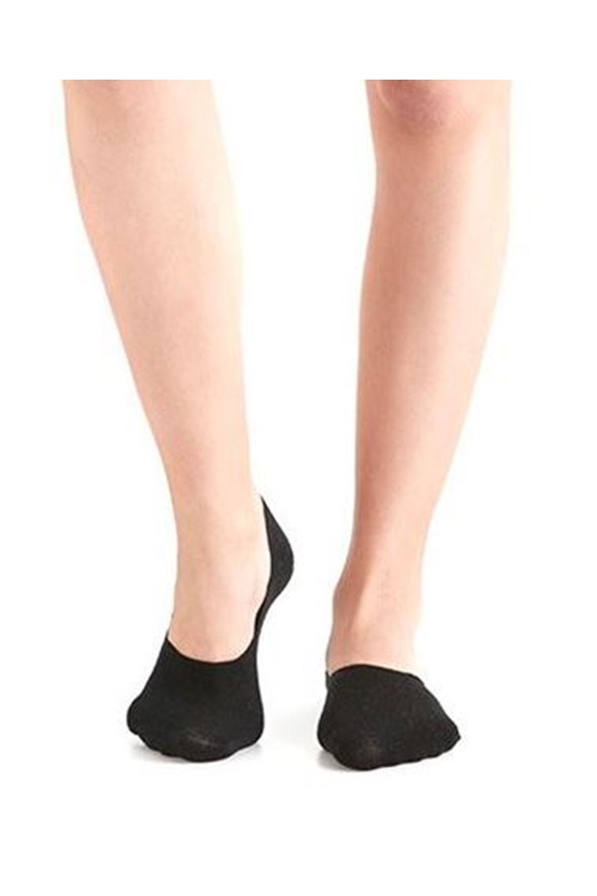 Kadın Düz Babet Çorap